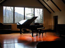 The Studio with piano